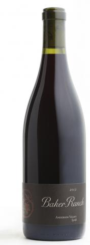 Copain Baker Ranch Vineyard Syrah
